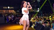 Tuğba Yurt Marmaris'te konser verdi