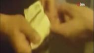 Taksici ile müşterinin köprü parası kavgası kamerada
