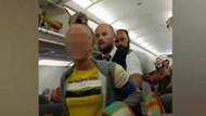 Dalaman uçağında gergin anlar: İngiliz kadından ırkçı saldırı