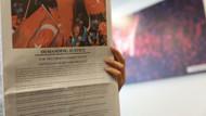 Washington Post'ta dikkat çeken 15 Temmuz ilanı