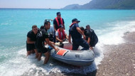 Gece girdiği denizde kaybolan turizmci kadın ölü bulundu