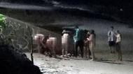 Turizm cenneti adada 5 kadın 1 erkek turist çırılçıplak yakalandı
