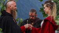 Norveçli çift neredeyse 1000 yıllık geleneksel Viking düğünüyle evlendi!