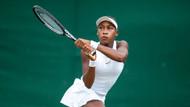 15 yaşında Wimbledon'da tarih yazdı!