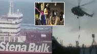 İran'ın İngiltere'ye ait tankere müdahale görüntüleri