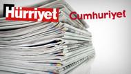 Hürriyet'in tirajı o kadar çakıldı ki Cumhuriyet ile arasında 6-7 bin kaldı
