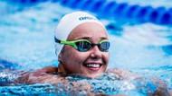 Milli yüzücü Victoria Zeynep Güneş'ten olimpiyat başarısı
