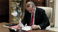 Erdoğan 3 bakanlıkta o isimleri görevden aldı!