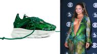 Lopez'in Google Görseller'e ilham veren elbisesinin ayakkabısı yapıldı