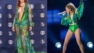 Jennifer Lopez'in şimdiye  kadar giydiği en seksi elbiseler