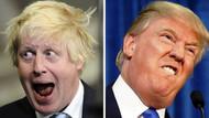 İngiltere Başbakanı Johnson ile ABD Başkanı Trump'ın şaşırtıcı benzerliği