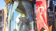 Erdoğan, yerli elektrikli traktör ve biçerdöver kullandı