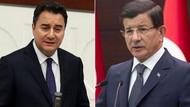 Kulisleri sallayan Babacan Davutoğlu iddiası