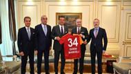 Galatasaray yönetiminden İmamoğlu'na tebrik ziyareti