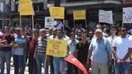 Torbalı'da işten çıkarılan işçiler eylem yaptı: Oğluna var da bize yok mu?