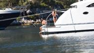 Ebru Şallı ile Uğur Akkuş tekneyle tura çıktı
