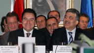 Babacan ve Gül'ün partisi referandum isteyecek