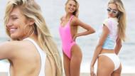 Model Romee Strijd'in bikinili pozları nabızları hızlandırdı