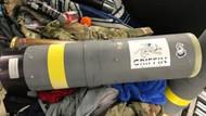 Bavulundan füze fırlatıcısı çıkan yolcu hediyelik eşya dedi