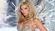 İstanbul'a gelen Victoria's Secret meleği çıplak poz verdi!
