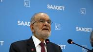 Karamollaoğlu: Saadet Partisi özgül ağırlığı en yüksek olan partidir