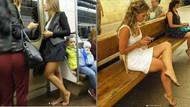 Rusya'da yeni akım: Yalın ayak metro yolculuğu