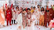 Hintli eşcinsel çiftin düğün fotoğrafları görenleri büyüledi!