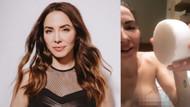 ABD'li komedyen Whitney Cummings şantajcılara inat göğüs ucunu paylaştı