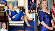 Epstein'ın evinde Bill Clinton'ın kadın elbiseli portresi bulundu