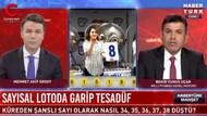 Milli Piyango Müdürü canlı yayında Habertürk'e teklifte bulundu