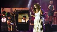 Hazer Amani sevgilisi Sıla'nın konserini kulisten dinledi