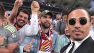 Nusret Real Madrid maçı öncesi sahaya çıktı