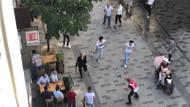 Taksim'de büyük kavga: Polis silah çekerek müdahale etti