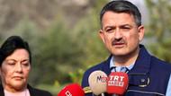 Bakan Pakdemirli'den İzmir yangını açıklaması: Bir köy boşaltıldı