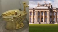 Blenheim Sarayına ziyaretçiler kullansın diye saf altından klozet koydular