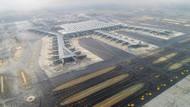 İstanbul Havalimanı'nda sorun bitmiyor: Şimdi de taksi yolu çöktü