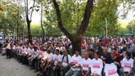 Binlerce insan Tank Palet Fabrikası için oturma eylemi yaptı