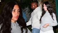 Kim Kardashian'ın makyajsız halini görenler şok oldu