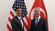 Akar ABD Savunma Bakanı Mark Esper ile görüştü