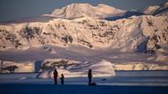 Antarktika'da yıldız tozu bulundu