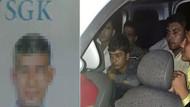 SGK çalışanı Yunanistan sınırına göçmen kaçırırken yakalandı