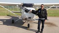 Pakdemirli pilotluk lisansını THK'da yeniletmiş