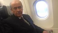 Devlet Bahçeli korkusunu yendi yıllar sonra uçağa böyle bindi