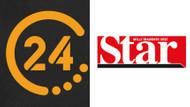 24 TV ve Star Gazetesi'nde hangi isimlerle yollar ayrıldı?