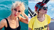 Zerrin Tekindor'un Mikonos tatili fotoğraflarına beğeni yağıyor!