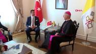 Vatikan Büyükelçisi Ekrem İmamoğlu'nu ziyaret etti