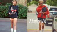 Hailey Bieber Vogue Paris için Prenses Diana kılığına girdi