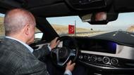 Erdoğan, İstanbul-İzmir otoyolunu kendi kullandığı makam aracıyla test etti