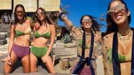 Dila - Sima Tarkan kardeşlerin bikinilerinin fiyatı dudak uçuklattı!