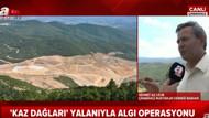 A Haber Kaz Dağları'nda 200 bin ağaç kesilmesini böyle savundu